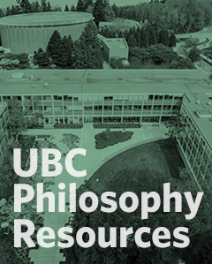UBC Philosophy Resources