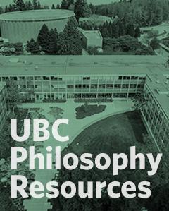UBC Philosophy Resources
